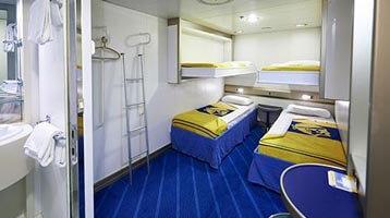 Tips vóór het boeken: Neem een hut Corsica ferries